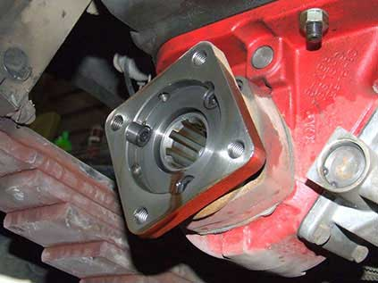 Direct-mount-flange