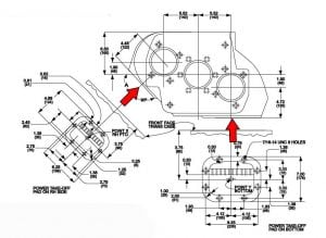 PTO placement for Eaton Fuller transmission