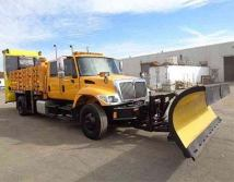 plow dump truck